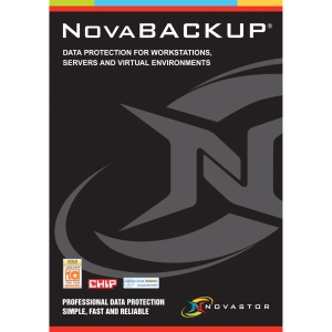 Novastor NovaBACKUP v.14.0 Server With NovaCare - Backup & Recovery Box - PC