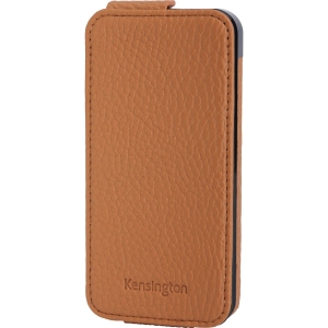 Kensington Portafolio K39605WW Carrying Case (Wallet) for iPhone - Tan - Nappa Leather