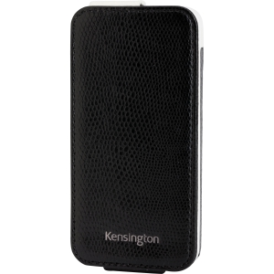 Kensington Portafolio K39610WW Carrying Case (Flip) for iPhone - Black - Snake