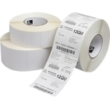 "Zebra Label Paper 2.25x2in Direct Thermal Zebra Z-Select 4000D - 2.25"" Width x 2"" Length - 12 / Carton - Rectangle - 1370/Roll - 1"" Core - Paper - Direct Thermal - White"