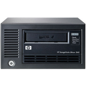 "HP LTO-4 Ultrium 1840 SAS Internal Tape Drive - 800 GB (Native)/1.60 TB (Compressed) - SAS - 5.25"" Width - 1H Height - Internal"
