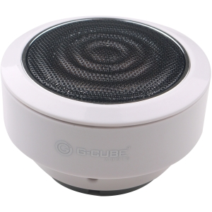 Bluetooth V3.0 Portable Speaker White Via Ergoguys - 33 ft - USB