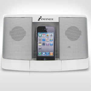 Infinite iPod/iPhone Docking Station Speaker System