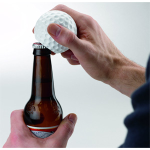 Sports Lover's Talking Golf Ball Bottle Opener