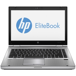 "HP EliteBook 8470p C9J12UT 14.0"" LED Notebook - Intel - Core i5 i5-3320M 2.6GHz - Platinum - 4 GB RAM - 500 GB HDD - Genuine Windows 8 - DisplayPort"