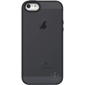 Belkin Grip Candy Sheer Case for iPhone 5 - iPhone - Gravel, Blacktop - Translucent, Tint - Thermoplastic Polyurethane (TPU)
