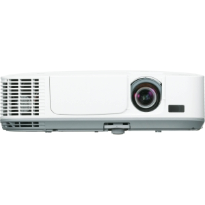 NEC LCD Projector - 720p - HDTV - 16:10 - F/1.7 - 2.1 - SECAM, NTSC, PAL - 1280 x 800 - WXGA - 3,000:1 - 3100 lm - HDMI - USB - VGA In - Ethernet - 311 W - 2 Year Warranty