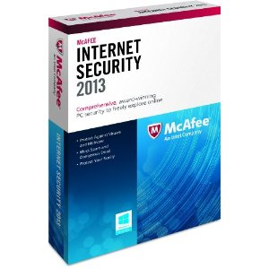 McAfee Internet Security 2013 - 3 User Family Edition