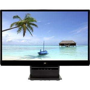 "Viewsonic VX2270Smh-LED 22"" LED LCD Monitor - 16:9 - 7 ms - 1920 x 1080 - 250 Nit - 1,000:1 - Speakers - DVI - HDMI - VGA - Glossy Black - EPEAT Silver, RoHS"