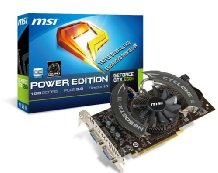 MSI GeForce GTX 650 TI Graphic Card - 993 MHz Core - 1 GB GDDR5 SDRAM - PCI Express 3.0 - 5400 MHz Memory Clock - HDMI - DVI