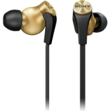 Sony Extra Bass In-ear Headphones - Stereo - Gold - Mini-phone - Wired - 16 Ohm - 4 Hz 25 kHz - Gold Plated - Earbud - Binaural - In-ear - 3.94 ft Cable