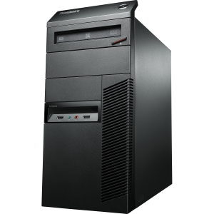 Lenovo ThinkCentre M92p 3212D8U Desktop Computer - Intel Core i5 i5-3470 3.2GHz - Tower - Business Black - 4 GB RAM - 500 GB HDD - DVD-Writer - RAID Supported - Intel HD 2500 Graphics - Genuine Windows 7 Professional - DisplayPort