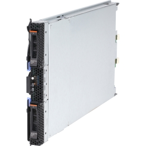 IBM BladeCenter 8038E5U Blade Server - 1 x Intel Xeon E5-2430 2.20 GHz - 2 Processor Support - 24 GB Standard/96 GB Maximum RAM - Serial ATA/300 RAID Supported Controller - Gigabit Ethernet - RAID Level: 0, 1