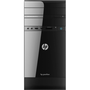HP p2-1300 p2-1310 H3Y72AA Desktop Computer - AMD E-Series E2-1800 1.7GHz - Micro Tower - 4 GB RAM - 500 GB HDD - DVD-Writer - AMD Radeon HD 7340 Graphics - Genuine Windows 8