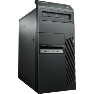 Lenovo ThinkCentre M78 2111C2U Desktop Computer - AMD A-Series A4-5300 3.4GHz - Tower - Business Black - 2 GB RAM - 250 GB HDD - DVD-Writer - RAID Supported - AMD Radeon HD 7480D Graphics - Genuine Windows 7 Professional - DisplayPort
