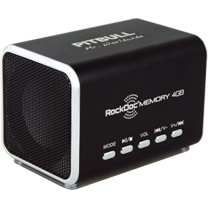RockDoc 2.0 Speaker System - 6 W RMS - Black - 50 Hz - 18 kHz - USB