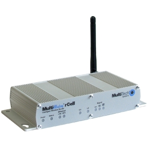 Multi-Tech MultiModem MTCBA-EV2-EN2-N3 Wireless Router - 1 x Antenna - 1 x Network Port Desktop, Panel-mountable