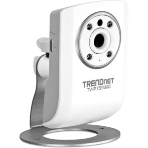TRENDnet TV-IP751WIC Surveillance/Network Camera - Color - Wireless - Wi-Fi