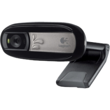 Logitech C170 Webcam - 0.3 Megapixel - USB 2.0 - 5 Megapixel Interpolated - 1024 x 768 Video - Fixed Focus - Widescreen - Microphone