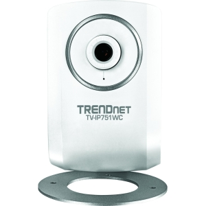 TRENDnet TV-IP751WC Surveillance/Network Camera - Color - Wireless - Wi-Fi