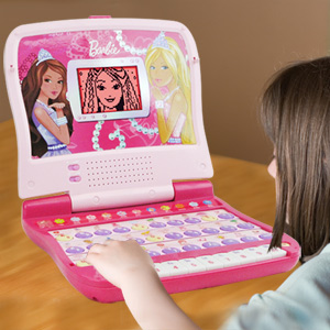 Oregon Scientific Barbie B-Bright Learning Laptop