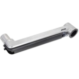 Ergotron Mounting Extension for Keyboard - Aluminum - Polished Aluminum