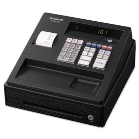 XEA107 LED 80-PRICE LOOK-UPS 8 DEPT BASIC ELECTRONIC CASH REGISTER
