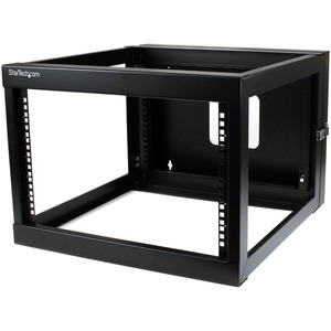 StarTech.com 6U 22in Depth Hinged Open Frame Wall Mount Server Rack - 19&quot; 6U Wall Mounted