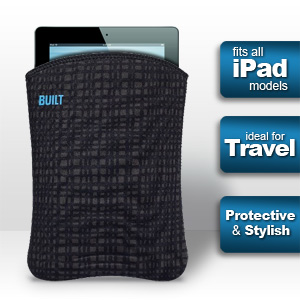 Built NY iPad Sleeve - Graphite (Fits all iPads)