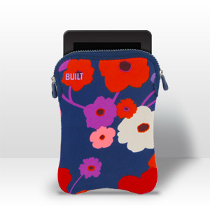 "Built NY 7 - 8"" e-Reader Tablet Sleeve - Lush Flower"