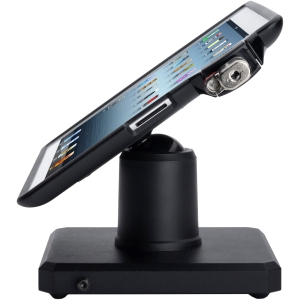 Kensington SecureBack POS Stand and Enclosure for iPad 4th gen, 3rd gen & iPad 2 - Metal - 1 - Black