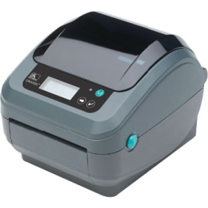 Zebra GX420t Thermal Transfer Printer - Monochrome - Desktop - Label Print - 6 in/s Mono - 203 dpi - Fast Ethernet - USB
