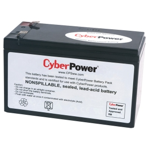 CyberPower RB1280A UPS Replacement Battery Cartridge - 8Ah - 12V DC - Maintenance-free Sealed Lead Acid