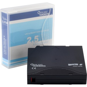 Tandberg Data LTO Ultrium 6 Data Cartridge - LTO Ultrium - LTO-6 - 2.50 TB (Native) / 6.25 TB (Compressed) - 1 Pack