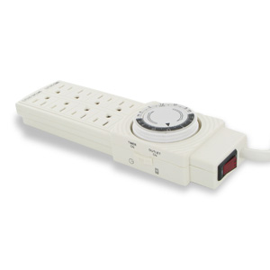 8 Plug Outlet with Programmable Timer