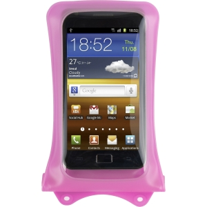 DiCAPac Underwater Case for Smartphone, iPhone - Pink - Water Proof - Thermoplastic Polyurethane (TPU), Polyvinyl Chloride (PVC)