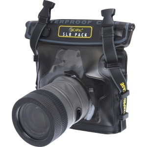 DiCAPac WP-S10 Marine Camera Case - PVC, Polycarbonate - Clear, Dark Brown