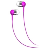 Maxell Earphone - Stereo - Pink - Mini-phone - Wired - 16 Ohm - 20 Hz 20 kHz - Earbud - Open