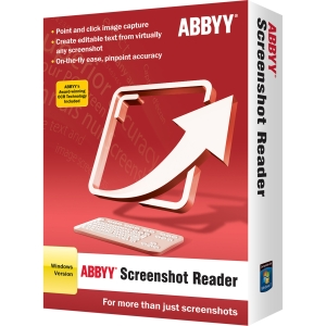 Abbyy ScreenShot Reader OCR Utility – Standard Retail License for 1 User
