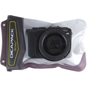 DiCAPac Underwater Case for Camera - Black - Water Proof - Polycarbonate