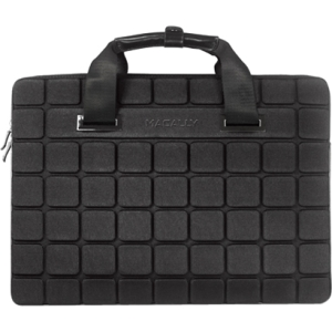 "Macally Carrying Case (Sleeve) for 15"" Notebook - Black - Impact Absorbing - Neoprene"