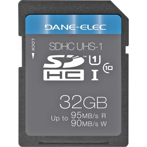 Dane-Elec 32 GB Secure Digital High Capacity (SDHC) - 1 Card - Class 10/UHS-I