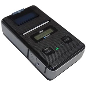 Star Micronics SM-S220i-DB40 Direct Thermal Printer - Monochrome - Portable - Receipt Print - 1.89 Print Width - 3.15 in/s Mono - 203 dpi - Bluetooth - Serial - Battery Included - LCD