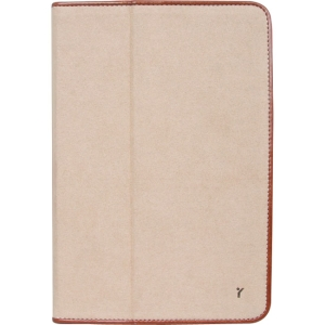 The Joy Factory JouJou CSE112 Carrying Case (Folio) for iPad mini - Bronze - Synthetic Leather, MicroFiber