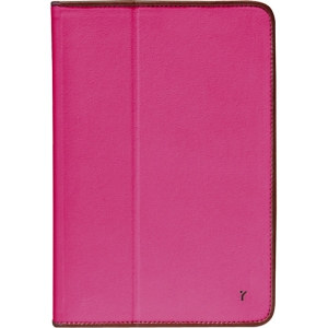 The Joy Factory JouJou CSE113 Carrying Case (Folio) for iPad mini - Pink - Synthetic Leather, MicroFiber