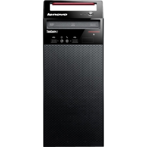 Lenovo ThinkCentre Edge 72 3484HPU Desktop Computer - Intel Core i3 i3-3220 3.3GHz - Tower - Glossy Black - 4 GB RAM - 500 GB HDD - DVD-Writer - Intel HD 2500 Graphics - Genuine Windows 7 Professional - DVI