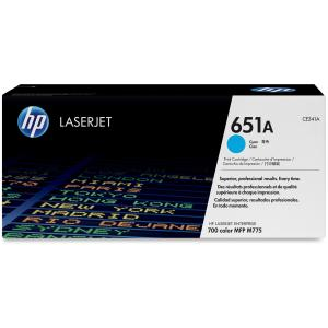 HP 651A Toner Cartridge - Cyan - Laser - 16000 Page - 1 Pack - OEM