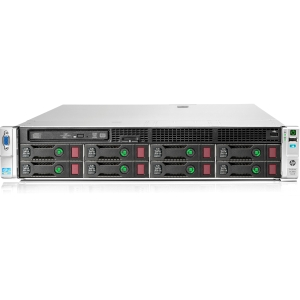 HP ProLiant DL380e G8 716676-S01 2U Rack Server Intel Xeon E5-2403 1.8GHz - 2 Processor Support - 2 GB Standard - Serial ATA/600 RAID Supported Controller - Gigabit Ethernet - RAID Level: 0, 1, 1+0