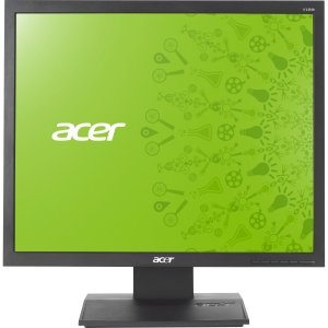 "Acer V193L 19"" LED LCD Monitor - 4:3 - 5 ms - Adjustable Display Angle - 1280 x 1024 - 16.7 Million Colors - 250 Nit - 100,000,000:1 - VGA - Black - EPEAT Silver, TCO '05, Energy Star"