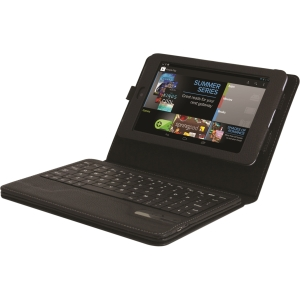 Hipstreet Asus Google Nexus 7In Case W/ Bluetooth Keyb Via Ergoguys - Leather